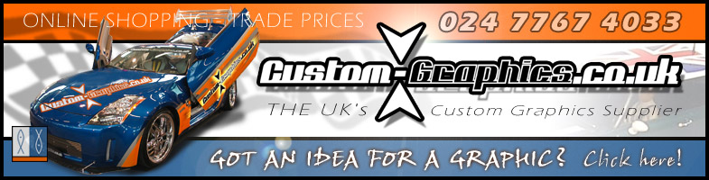 CustomGraphicscouk Sunstrips Vinyl Signs Stickers Logos - Custom vinyl decals uk